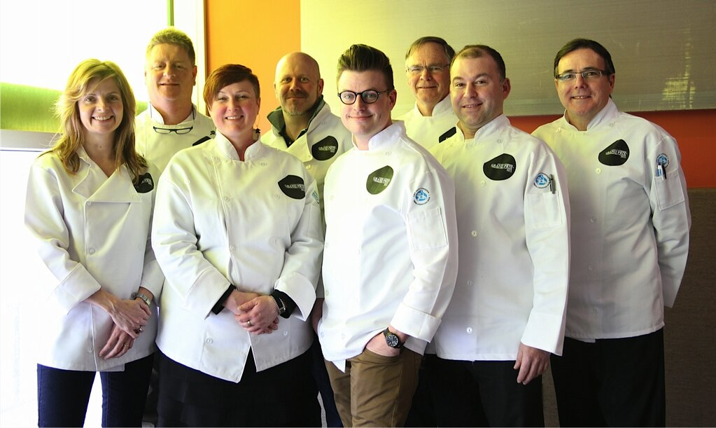 Judges of the 2013 Canadian Cheese Grand Prix sponsored by Dairy farmers of Canada.